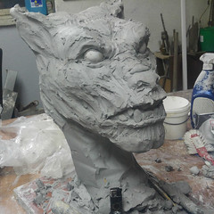 a5 (variouseffects) Tags: wilkołak warewolf głowa maska cosplay rzeźba mold cast props vfx variouseffects