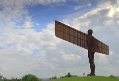 Angel of the North - 4 (Tony Worrall) Tags: england northern uk update place location north visit area county attraction open stream tour country welovethenorth unitedkingdom northeast sculpture statue made metal large huge man figure hill outside angelofthenorth antonygormley