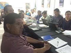 En las instalaciones de la SEMARNAT participamos en reunion de la comision de consulta forestal #Oaxaca (1)