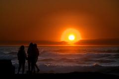 Sutro Baths Sunset (Journey CPL) Tags: ocean sun wave color windy sanfrancisco california pacific coast shore dusk