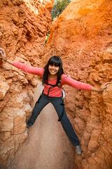 Bryce Canyon (joshbousel) Tags: kristin bryce brycecanyon brycecanyonnationalpark hoodoo hoodoos kris nationalpark northamerica people places queensgardentrail travel unitedstates unitedstatesofamerica usa ut utah
