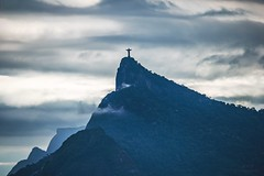 Christ the Redeemer (maria manuela photography) Tags: photography travel riodejaneiro visitrio visitbrazil brazil tourism traveltourism traveldestination nature placetovisit view vista mountains clouds cu nuvem paisagem cloudy cloudyday christtheredeemer