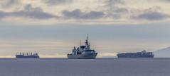 HMCS Ottawa (Paul Rioux) Tags: marine hmcs ottawa royalcanadiannavy canadianarmedforces navy naval ship ships vessels military warship outdoor juandefucastrait salishsea