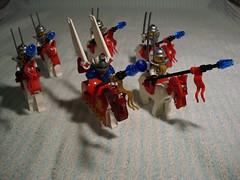 Husaria (Śląski Hutas) Tags: lego bricks toys cavalry horse winged hussar husarz polska poland futuristic scifi