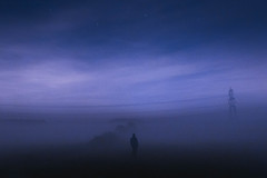 2017 Wishes (Adam_Marshall) Tags: adam marshall landscape nature people stereocolours clouds countryside blue twilight cambridgeshire autumn outdoors fog dusk england night field adammarshall fall mist portrait sky stars longexposure silhouette powerline outside selfportrait dreamy atmospheric littlegidding dark misty foggy cold canon eos70d sigma 1750mmf28 sad sombre melancholy surreal space wide vast empty alone