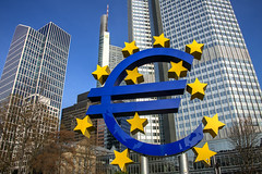 European Central Bank Former HQ (Eurotower), Frankfurt, Germany (globetrekimages) Tags: frankfurt germany euro skyscrapers city