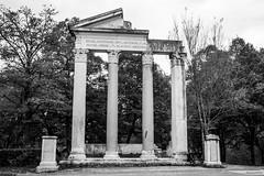 Selfitius (Noonski) Tags: celimontana rome selfitius ruins archaeology black white zwart wit blackwhite blackandwhite