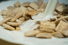 cereals (pitti13) Tags: cereals milk plate macro
