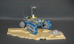 Classic space ATV-tank (adde51) Tags: adde51 lego moc space classic classicspace tank vehicle atv moon