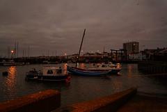 Bridlington Blue Hour, Yorkshire, UK (EmPhoto.) Tags: bluehour harbour bridlington yorkshire uk seascape emmiejgee landscapepassion sonya7r sonyzeiss2470mm lowlight boats