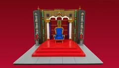Throne (Heksu) Tags: lego throne seat king