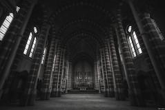 The pillars of faith (Strange Artifact) Tags: sony a7r fe 1635 f4 za oss t carl zeiss variotessar urbex urban exploration ue abandoned decay belgium montg