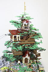 Tree - Front on (Philosophical Bricks) Tags: lego treehouse observertree waterfall watermill chairlift minifig brickvention 2016 greenhouse bricks culture 6 treasure power functions laboroflove tree sculpture waterwheel roots frame balcony brothers ladies well mine tunnel genie pirate ghostbusters dive bricksculture6 landscape rocks water gold plants