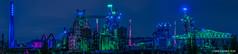 LaPaDu Panorama (mr.wohl) Tags: duisburg historisch industrie industriegebiet industriekultur industriepark kohle landschaftspark langzeitbelichtung lapadu lichter nrw nacht nachtaufnahme ruhrgebiet stahl stahlindustrie zeche