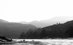 Mekong (DEARTH !) Tags: mekong laos southeastasia lao dearth blackandwhite slowboat mekongriver travel sainyabuliprovince la