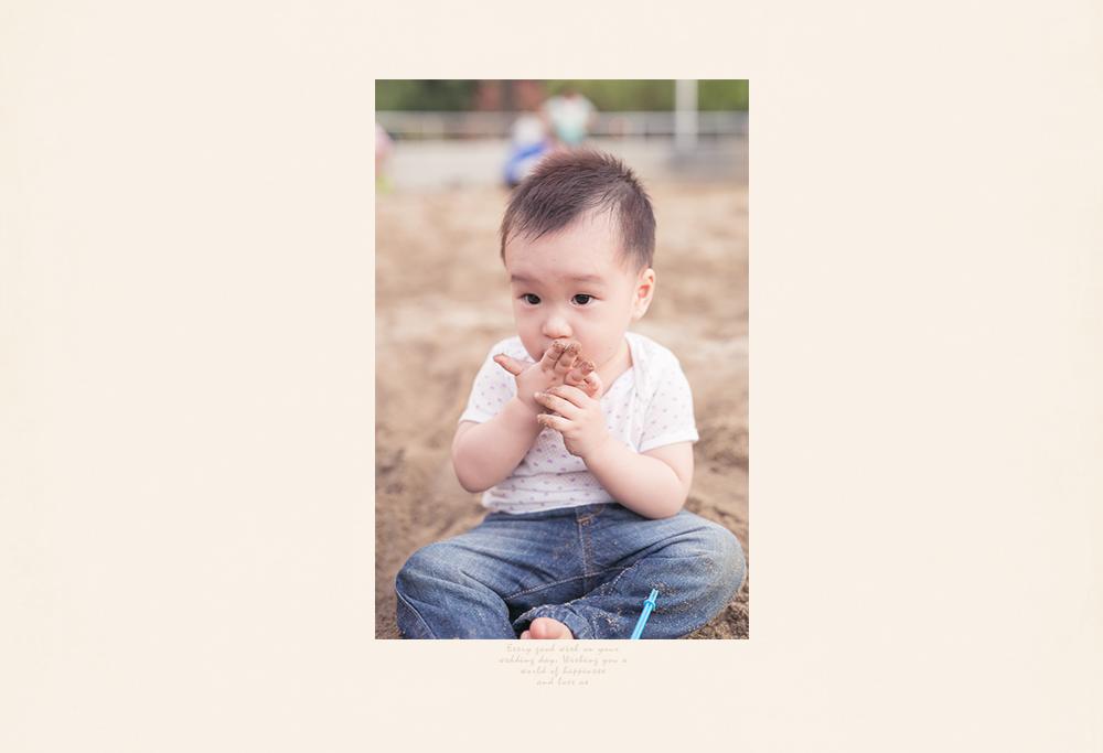 寶寶兒童週歲親子攝影全家福外拍