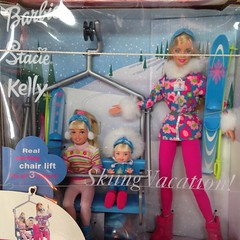 Barbie, Stacie, & Kelly Skiing Vacation! (iagoarchangel) Tags: stacie colorado doll barbie collection kelly fruita moonfarm