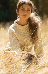 Girlfriend Style - in aran fashion knitwear (Mytwist) Tags: aran aranjumper aranstyle aransweater authentic fisherman warm woolfetish pullover cabled craft cozy crewneck classic cables fashion style sweatergirl crew expensive heavy girlfriend wife passion unisex modern design irish casual