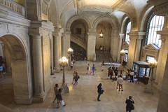 New York Public Library (Read2me) Tags: she people nypl fromabove lobby ge pree cye thechallengefactory challengeclubwinner