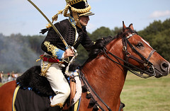 Military Odyssey 2015 (pg tips2) Tags: 19thcentury uniform cavalry oncemoreintothebreach showground kent detling militaryodyssey2015 military people reenactment reenactors 2015 militaryodyssey mounted cavalary rider sword charge equine horse ridden lhhp