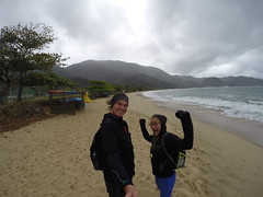 Photo de 14h - Sur la plage de Trindade (Brésil) - 02.09.2014