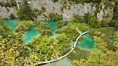 """Looking down "" at Plitvice Lakes (Alex Verweij) Tags: plitvice"