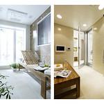 丸洗い可能な新発想の多機能な部屋の写真