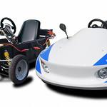分解組立式電気自動車キットの写真
