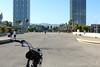 Bike at Port Olympic in Barcelona (emilyluxton) Tags: barcelona bike spain catalunya portolympic