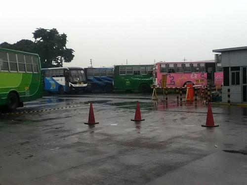 Parked Mahilac Buses