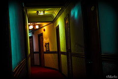 Rainbow (Manlio'77) Tags: travel blue colors yellow lights hotel design nikon mood interior perspective motel shining sapa manlio redcarpet corridors manliophotography vietnamnorthvietnamsapa manliodepasquale