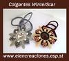Colgantes WinterStar (eiencreaciones) Tags: handmade colgantes miyuki rivoli pellets dagas hechoamano delicas rocallas preciosaornela twinbeads