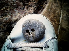 Old gold (Latjanski) Tags: old face stone happy shoe gold quality low serbia stoneface montenegro skeletor whistling whitsle latjanski