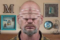 See No Evil (The.Mickster) Tags: self randy 365 hereios mirror portrait