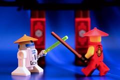 The Ultimate Ninjago Battle! R2-D2 vs. Kai (Lesgo LEGO Foto!) Tags: red cute love fun toy toys fire star starwars war lego ninja kai r2d2 wars minifig collectible minifigs omg collectable minifigure minifigures redninja fireninja legophotography legography collectibleminifigures collectableminifigure coolminifig ninjaoffire