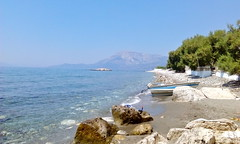 pefkos (Fif') Tags: plaza sea mer beach island see seaside mediterranean aegean playa greece more balkans griechenland plage grce balkan le mditerrane 2015 ormos balos ge koumeika koumeikon