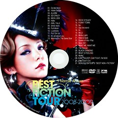 best_fiction_tour_2 (Namie Amuro Live ) Tags: tour namie amuro dvdcover  bestfictiontour20082009
