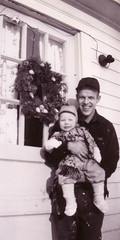Christmas 1947 (John M Poltrack) Tags: christmas xmas family usa us holidays technology unitedstates time connecticut places 1940s imaging stamford flatbedscans anthonydpoltrack tonypoltrack johnmpoltrack johnmarkpoltrack 50horanavenue