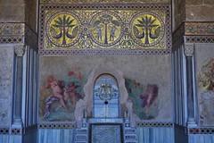 (orientalizing) Tags: italy mosaic sicily palermo summerresidence twelfthcentury moorishstyle unescosite lazisa arabnormanstyle alaziza 19thcenturyfrescoes normandynasty