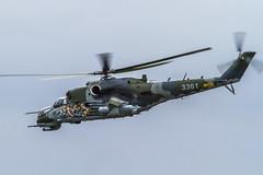 MIL Mi35 Hind -  Czech republic (Stéphane Laumont) Tags: republic czech tiger 50th meet hind nato mil 2011 cambrai mi35