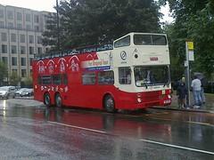 ex Kowloon Hong Kong repatriated Metrobus 6 wheeler (boysnips) Tags: metrobus 6wheeler kowloon originalsightseeingtour london londonbus doubledecker doubleetageautobus mcw british