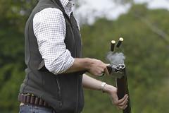 Eject (Kentish Plumber) Tags: redleafshoot 2016 clay claypigeon september shotgun 12bore 12gauge