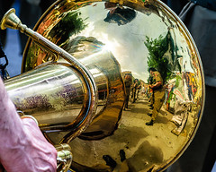 Luciano Manara (Kevin R Thornton) Tags: d90 nikon travel lucianomanara cefalu italy marchingband 2016 military reflection sicily cefal sicilia it