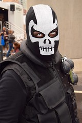 DSC_0489 (Randsom) Tags: nycc 2016 newyorkcomiccon nycomiccon javitscenter october nyc newyorkcity cosplay costume fun comicbooks comicconvention marvelcomics halloween spooky monster ghoul crossbones mask skull deathmask black white soldier mercenary grenade survivalist contacts africanamerican portrait