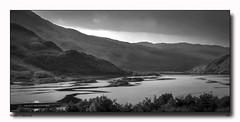 Water Patterns (jeremy willcocks) Tags: water loch scotland hills mountains trees sky islands patterns blackandwhite mono jeremywillcocks wwwsouthwestscenesmeuk fujixt1 xf50140mm landscape scottish uk