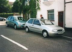 Ford Focus 1.6 (1999) & Fiesta LX 16v 1.25i (1998) (andreboeni) Tags: car automobile cars automobiles voitures autos automobili voiture auto ford focus fiesta zetec 125 125i lx 16v
