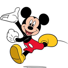 []LINE04 (sutaemon) Tags: sticker message    disney mickey mouse welcome