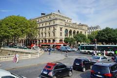 Paris Place du Chatelet 12.9.2016 3719 (orangevolvobusdriver4u) Tags: 2016 archiv2016 france frankreich paris road street strasse streetlife traffic trafic verkehr place du chatelet placeduchatelet square platz
