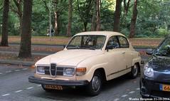 Saab 96 1979 (XBXG) Tags: fp58dj saab 96 1979 saab96 v4 96v4 buitenveldert amsterdam nederland holland netherlands paysbas vintage old classic swedish car auto automobile voiture ancienne sudoise sweden sverige zweden sude zweeds