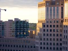 Downtown Cincinnati (Travis Estell) Tags: cbd centralbusinessdistrict cincinnati constructioncrane crane downtown downtowncincinnati ohio sevenatbroadway towercrane